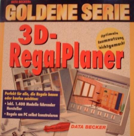 Goldene Serie 3D - Regalplaner