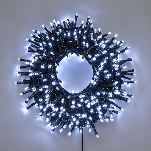 Chaîne LED Blanc 9 mt, 432 LED