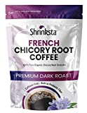 Chicory Root Powder, 1 lb. French Chicory Root Coffee Replacement, Coffee Alternative Caffeine Free Coffee Substitute, Chicory Root roasted Chicory Coffee, Ground Chicory Roasted. By Shrinksta.