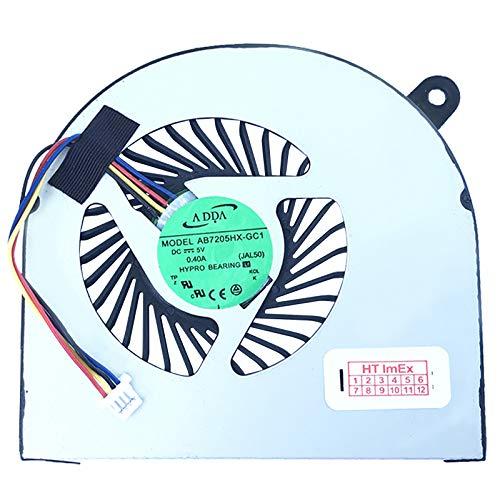 (rechte Seite) Lüfter/Kühler Fan kompatibel mit Acer Aspire V Nitro VN7-591G-5727, VN7-591G-77A9, VN7-591G-50UG, VN7-591G-73ME, VN7-591G-755E