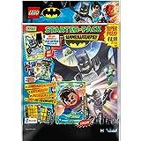 LEGO 180491 - Cartas coleccionables de Batman, Paquete de iniciación, Carpeta Coleccionable, un Booster y una Tarjeta Dorada Limitada, Multicolor