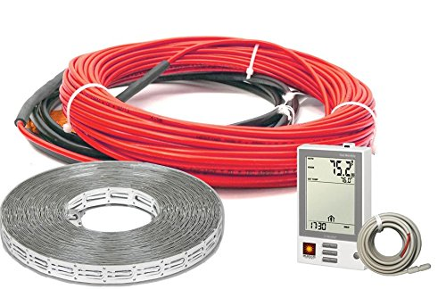 HeatWave Floor Heating Cable 120V (8-15 Square Feet) with Required...