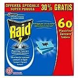 Raid, pastillas repelentes de mosquitos para aparato eléctrico,60unidades