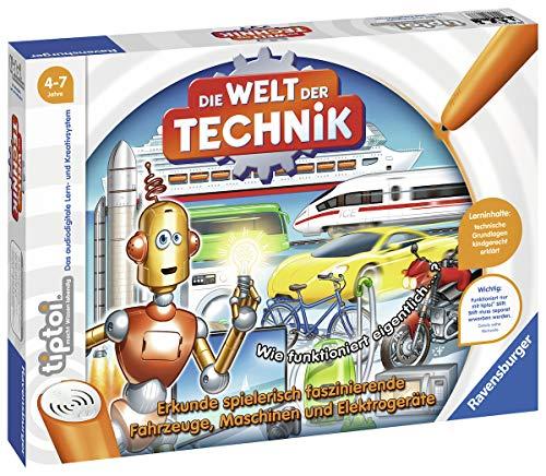 Die Welt der Technik tiptoi Spiele/Puzzles: Erkunde spielerisch faszinierende Fahrzeuge, Maschinen und Elektrogeräte , color/modelo surtido