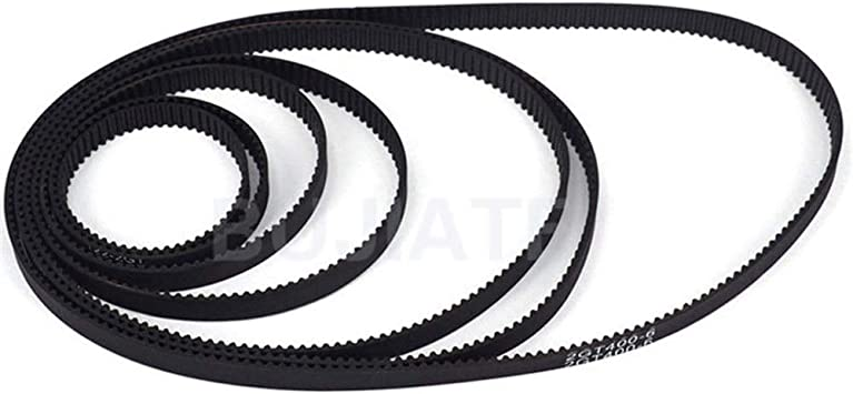 GT2-6mm Close Loop Timing Belt 6mm Width 2mm Pitch 1140mm Perimeter For 3D Printer GT2-1140mm