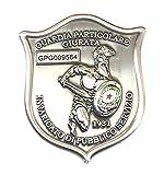 Placa con clip G.P.G I.P.S Gladiatore® Guardia especial jurada encargada de público Servicio New Art. GLDIA-P-C