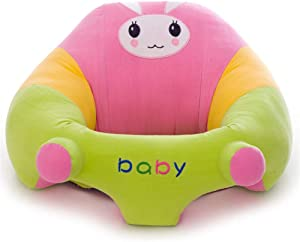 Yaunli Baby learning sit the sofa Baby Sitting Chair Sofa Infant Support Seat Learning Sit Chair Soft Cushion Cartoon Animal Shaped Safety Seats Baby support floor seat