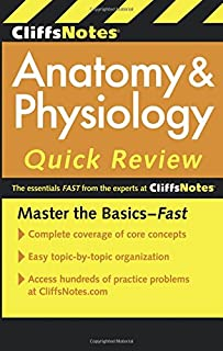 CliffsNotes Anatomy & Physiology Quick Review, 2ndEdition (Cliffsnotes Quick Review) (Cliffs Quick Review (Paperback))