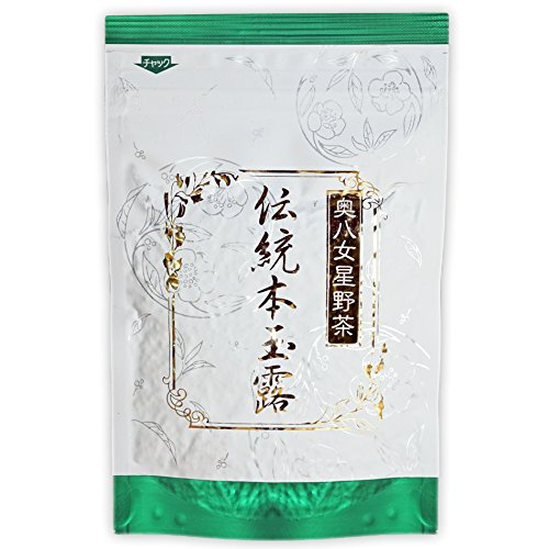 Hoshino-Cha   Connoisseur Gyokuro Japanese Green Tea   Farmer-Packaged   Rare 3-star Dento Hon   50g