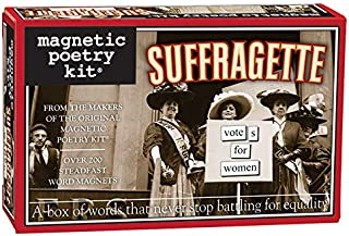 Magnetic Poetry Suffragette Kit