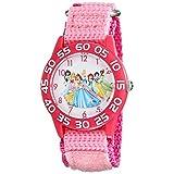 [ディズニー]Disney キッズ ディズニープリンセス ピンク 可愛い キャラクターウォッチ W001990 腕時計 [並行輸入品]