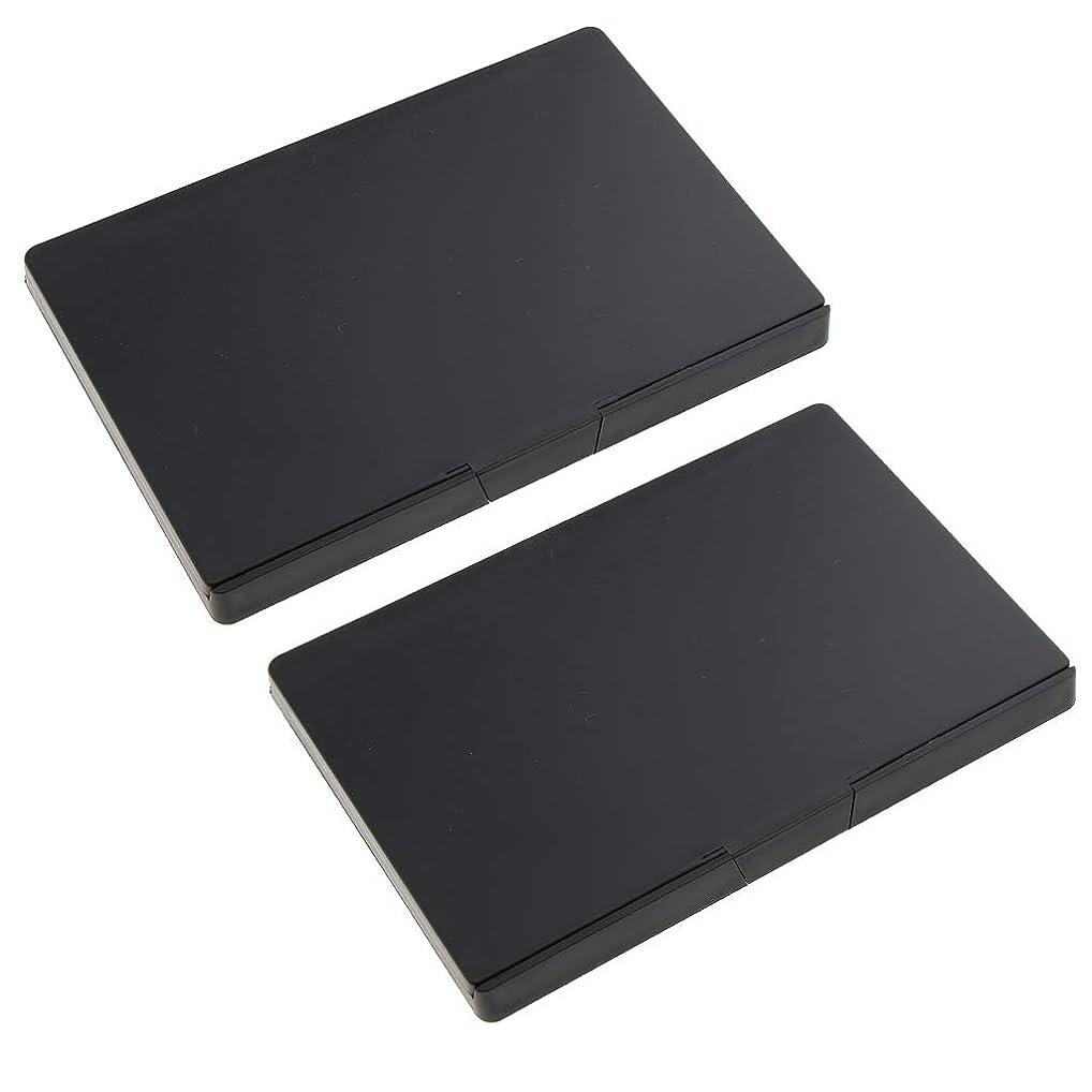 面キモい発表F Fityle 2個 磁気パレットボックス 空パレット アイシャドー パウダー メイクアップケース