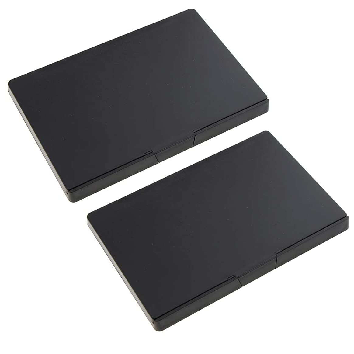 騙すタウポ湖ジャベスウィルソンB Baosity 2個 磁気パレット メイクアップパレット 手作り コスメ 小分け容器 旅行 便利