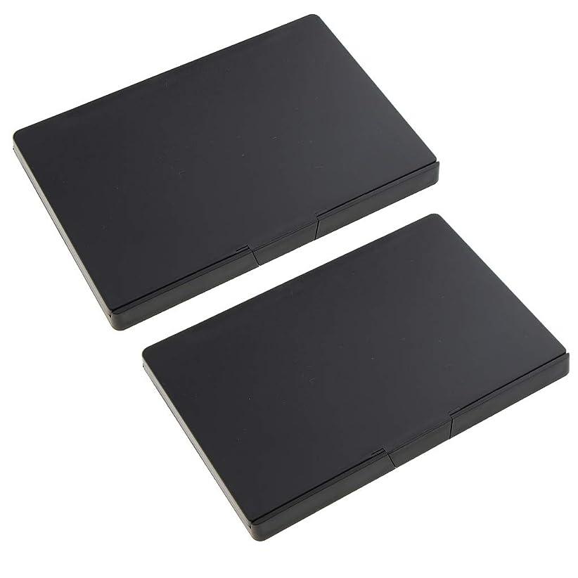 道を作る北ブラストB Baosity 2個 磁気パレット メイクアップパレット 手作り コスメ 小分け容器 旅行 便利