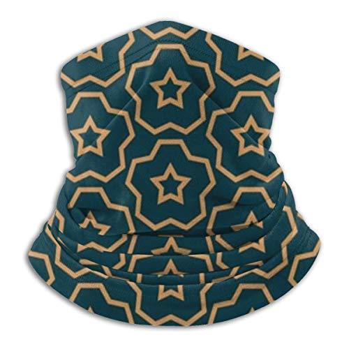 Calentador de Cuello de Microfibra Unisex Textura Abstracta Moderna Pasamontañas Sombreros Bufanda para Polvo Protección Solar Contra el Viento