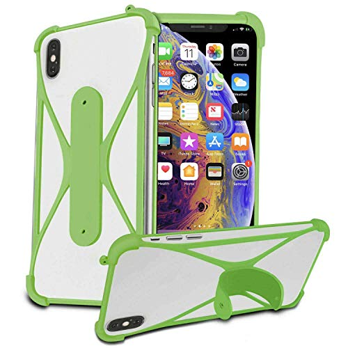 Stretchy Silicone Soft Phone Bumper X-Shape Design Case Cover for Elephone S2 Plus 5.5'