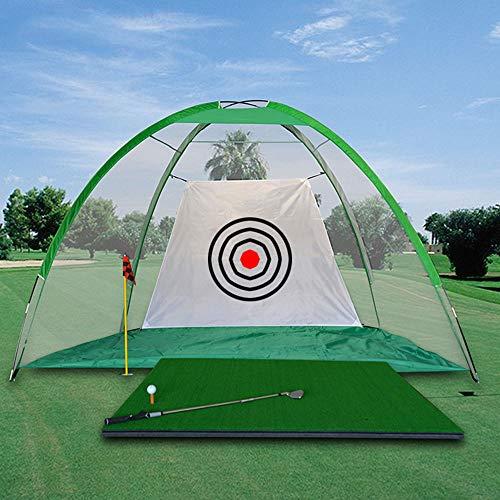 SHEHUIREN Filet d'entrainement Golf Tapis D'entraînement...