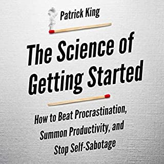 The Science of Getting Started audiobook cover art