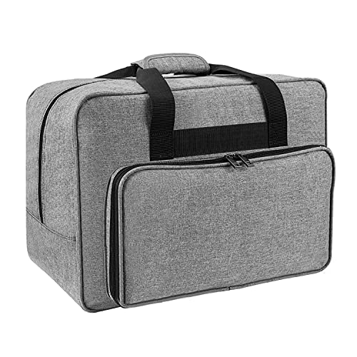 JOYPEA Sewing Machine Carrying Case - Carry Tote Bag Universal (Gray)
