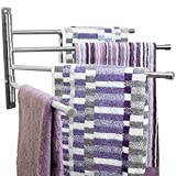 Swivel Towel Rack - Stainless Steel Swing Out...