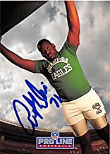 Autograph 124872 Philadelphia Eagles 1992 Pro Liner Portraits No. 350 Antone Davis Autographed Football Card