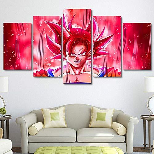 Tela modulare HD Stampa arte Della parete pittura animazione Poster decorazione Della casa immagine comodino sfondo No Frame