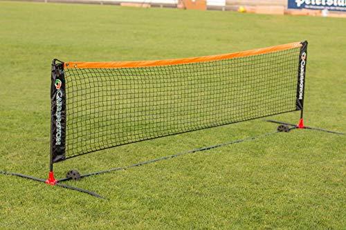 Carrington Tennisnetz in 3 m oder 6 m - Fussballtennis - Mobil - Inkl. Tragetasche - extrem Leichter Aufbau - WETTERFEST (6 m Lang)