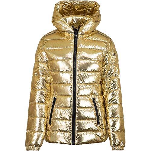 Champion Polyfill Women Bomberjacke Jacket (S, Rosegold)