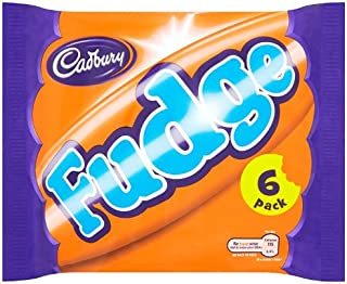 Cadbury Fudge 6 Bars (7 packs of Fudge 6 pack multipack, Total 42 Bars)
