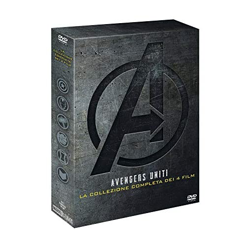 Marvel Avengers Collezione 1-4  (4 DVD)