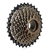 FYLYHWY Cassette de Acero roscado 9 Cassette Freewheel 13-32T Rueda Freewheel Engranaje Flywheel Piezas de Bicicleta Bicicleta de montaña Piezas de Repuesto