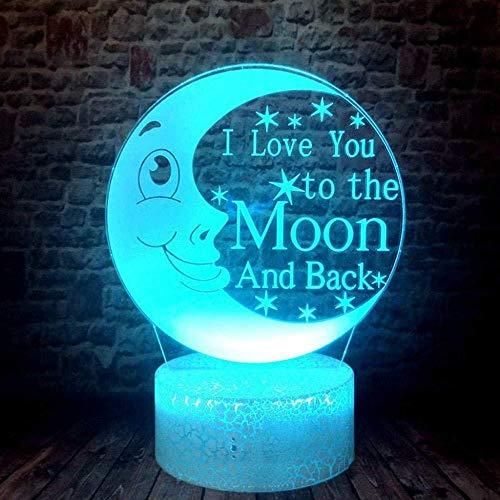 Toy Night Light - Lámpara de noche 3D Lámpara 3D Anime japonés Naruto Kurama Figura Regalo para niños Decoración de guardería Luz de noche LED 7 colores cambiantes Luces de noche Touch Smart