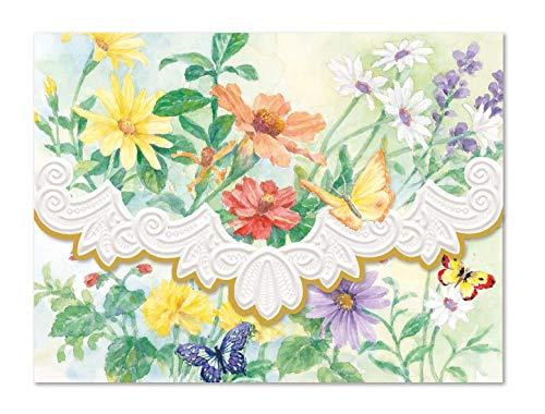 Carol's Rose Garden Spring Meadow Blank 10 Card Set Portfolio by Carol's Rose Garden