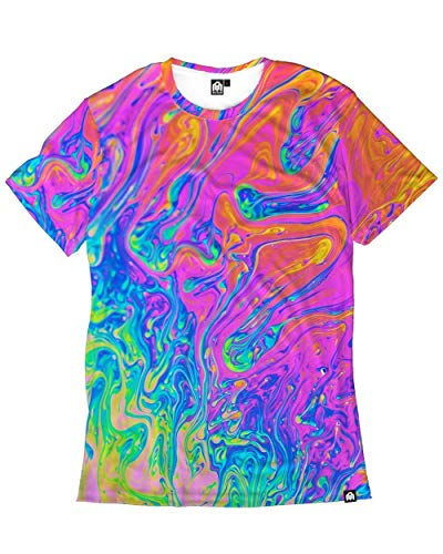 INTO THE AM Liquified Men's Casual Tee Shirt (Large)