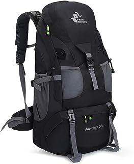 RuRu Monkey 50L Hiking Backpack, Waterproof Lightweight Daypack for Outdoor Camping Travel
