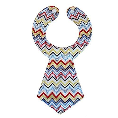 Tampa Mall Handmade Grandpa Chevron Bib Outlet sale feature Necktie Baby