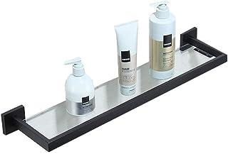 YBB-YB 浴室用ラック バスラック 浴室の棚浴室304ステンレススチールペイントブラックペンダント 収納 壁掛け棚