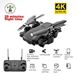 MROSW LF609 Drone 4K with HD Camera WiFi Follow Me Quadcopter FPV Professional Drone Long Battery Life Toy for Kids