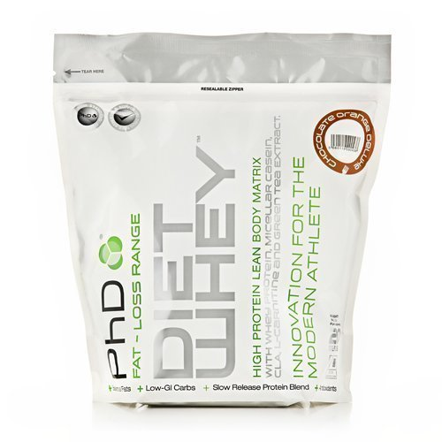 PhD Nutrition Diet Whey 1kg - Chocolate Orange by Maximuscle