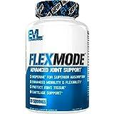 Evlution Nutrition Flex Mode, Support Articulaire, Glucosamine, Chondroïtine, Curcuma, MSM & Plus de 30 Capsules Individuelles