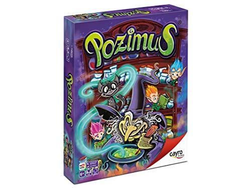 Cayro - Pozimus - Juego de Habilidades cognitiva e inteligencias múltiples - Juego Infantil - Juego de Mesa - (7051)