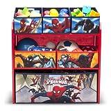 Delta Spider-Man Multi-Bin Toy Organizer