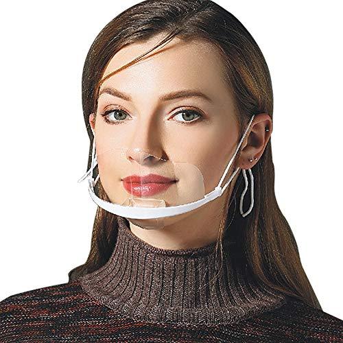 FEOYA 10pcs Kochgeschirr für Chef Service Restaurant Küche Café Küchengeräte Damen Herren Transparent Kunststoff Arbeitskleidung