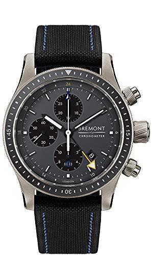 Bremont Titanium Boeing Watch Model BB247-TI-GMT/DG/BR