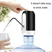 ZALTAN Automatic Wireless Water Bottle Switch Rechargeable Automatic Dispenser for 20 Litre Bottle with Portable USB Charging with USB Cable