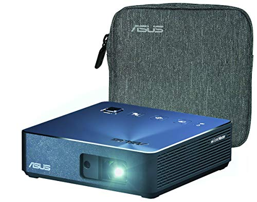 Unknown ASUS ZenBeam S2 Portable Mini Wireless Projector with Speakers 500 Lumens Native 720P USB-C HDMI Auto Keystone I Up to 3.5 Hours Battery | 2...