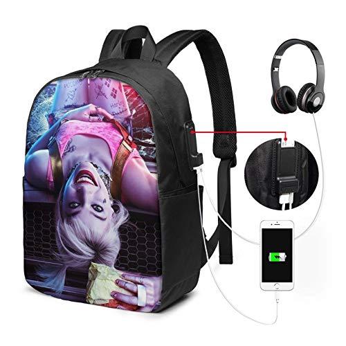 51fJ8dVl+3L Harley Quinn Backpacks for School