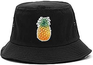 Pineapple Chest Logo Emoji Meme Mens Bucket Hat