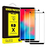 Yoyamo (2 Pack) Tempered Glass Nv11 Screen Protector for Samsung Galaxy Note 9, Case Friendly - Black