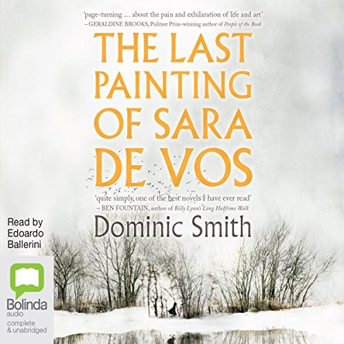 The Last Painting of Sara de Vos audiobook cover art